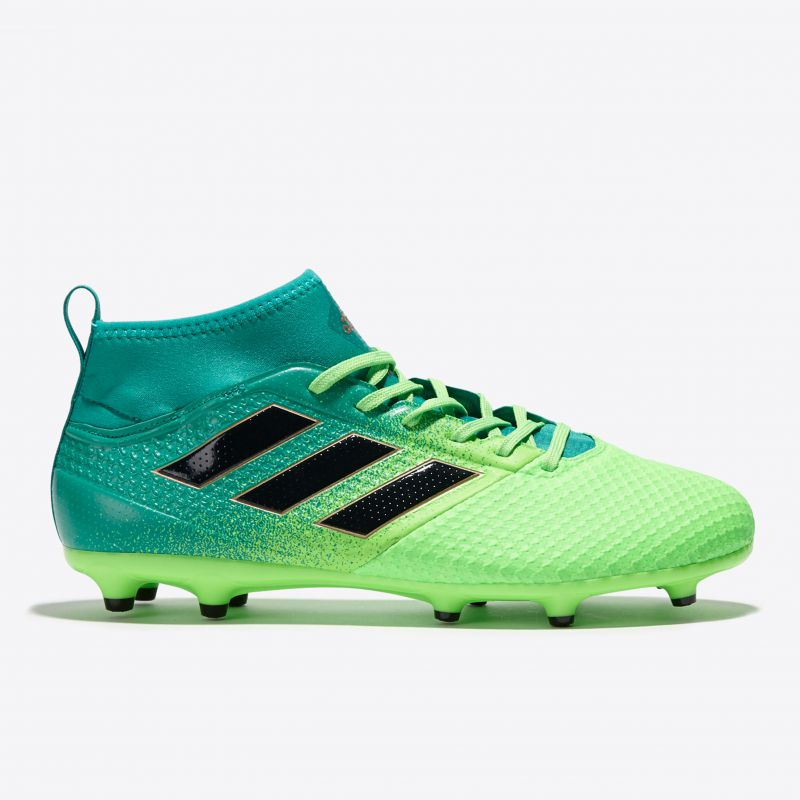 super cute 261ad 720b9 adidas Ace 17.3 Primemesh Firm Ground Football Boots - Solar Green/Core  Black/Core Green