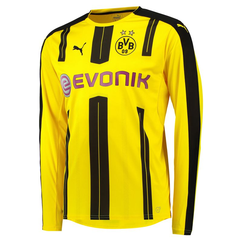 newest ff91e 5a326 BVB Home Shirt 2016-17 - Long Sleeve with M. Götze 10 printing