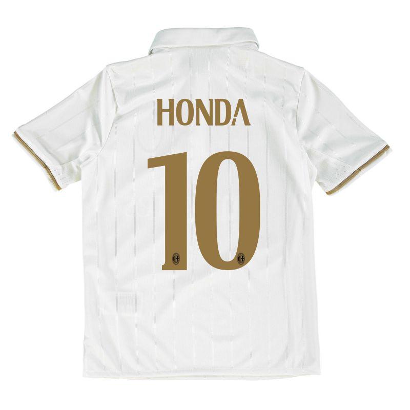 AC Milan Away Shirt 2016-17 - Kids with Honda 10 printing ...