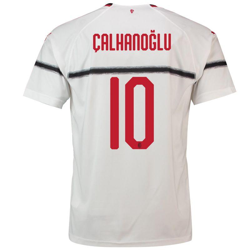 AC Milan Away Shirt 2018-19 - Kids with Çalhanoglu 10 ...