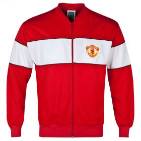 Manchester United Retro 1985 FA Cup Final Track Jacket