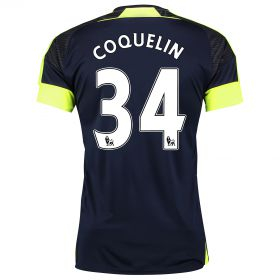Arsenal Third Shirt 2016-17- Kids with Coquelin 34 printing