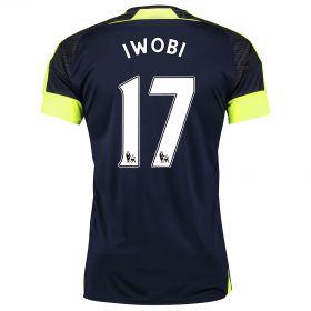 Arsenal Third Shirt 2016-17- Kids with Iwobi 17 printing