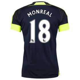 Arsenal Third Shirt 2016-17- Kids with Monreal 18 printing