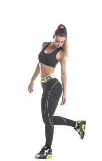 Дамски спортен клин Ex Fit BLACK CORAL LINE