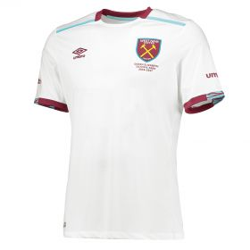 West Ham United Away Shirt 2016-17 - Kids with Carroll 9 printing