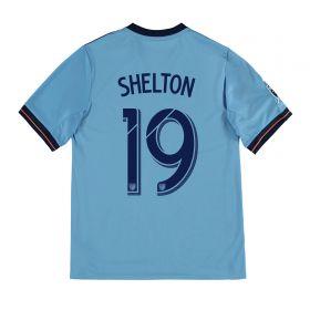 New York City FC Home Shirt 2017-18 - Kids with Shelton 19 printing