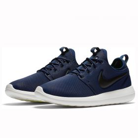 Nike Roshe Two Trainers - Midnight Navy/Black/Sail/Volt