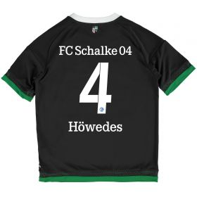 Schalke 04 Third Shirt 2015-17 - Kids Grey with Höwedes 4 printing