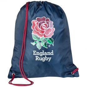 England Rose Gymbag - Navy
