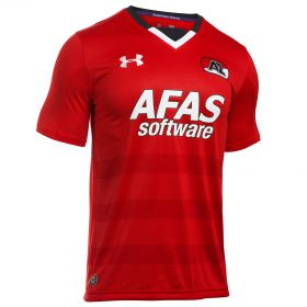 AZ Alkmaar Home Shirt 2016-17 Red