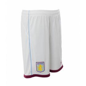 Aston Villa Home Shorts 2016-17 - Kids White