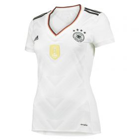 Germany Confederations Cup Home Shirt 2017 - Womens with Muller 13 printing