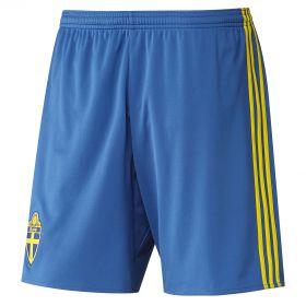 Sweden Home Shorts 2016 Royal Blue