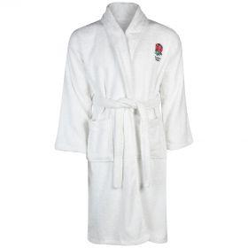 England Bath Robe - Boys- White