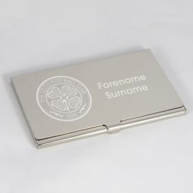 Celtic Personalised Business Card Holder