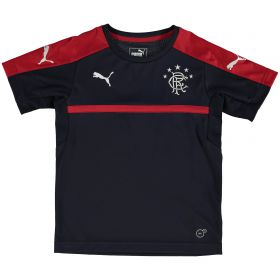 Glasgow Rangers Training Jersey - Navy - Red