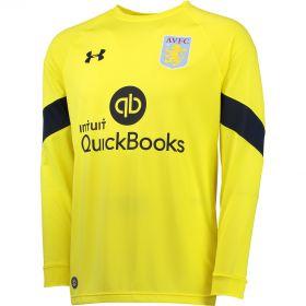 Aston Villa Home Goalkeeper Shirt 2016-17 Yellow