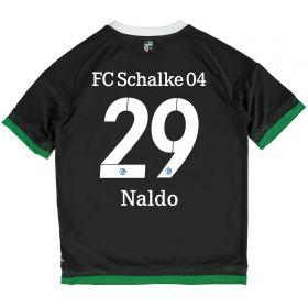 Schalke 04 Third Shirt 2015-17 - Kids Grey with Naldo 29 printing