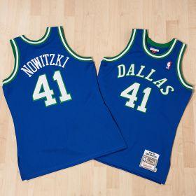 Dallas Mavericks Dirk Nowtizki 1998-99 Road Authentic Jersey By Mitchell & Ness