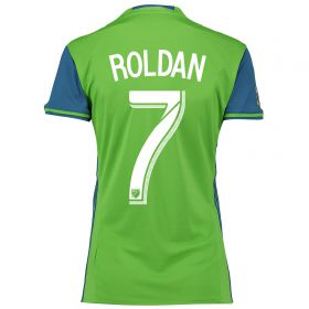 Seattle Sounders Home Shirt 2016 - Womens with Roldan 7 printing
