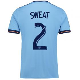 New York City FC Home Shirt 2017-18 with Sweat 2 printing