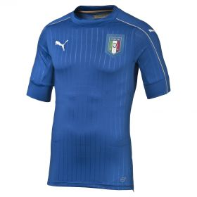 Italy Authentic Home Shirt 2016 Blue