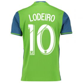 Seattle Sounders Home Shirt 2016 with Lodeiro 10 printing