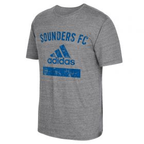 Seattle Sounders Equipment T-Shirt - Grey