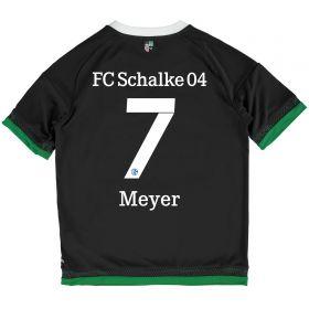 Schalke 04 Third Shirt 2015-17 - Kids Grey with Meyer 7 printing