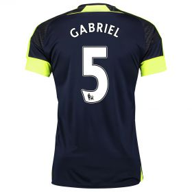 Arsenal Third Shirt 2016-17 with Gabriel 5 printing