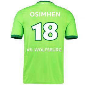 VfL Wolfsburg Home Shirt 2016-17 - Kids with Oshimen 18 printing