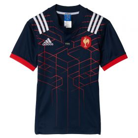 France Rugby Home Shirt - Kids