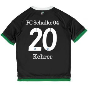 Schalke 04 Third Shirt 2015-17 - Kids Grey with Kehrer 20 printing