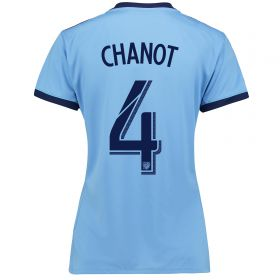 New York City FC Home Shirt 2017-18 - Womens with Chanot 4 printing