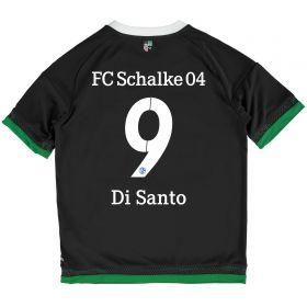 Schalke 04 Third Shirt 2015-17 - Kids Grey with Di Santo 9 printing