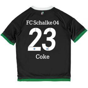 Schalke 04 Third Shirt 2015-17 - Kids Grey with Coke 23 printing