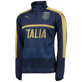 Italy Tribute 2006 1/4 Zip Training Top - Navy