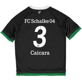 Schalke 04 Third Shirt 2015-17 - Kids Grey with Ciacara 3 printing