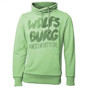 VfL Wolfsburg Graphic Hoodie - Green - Womens