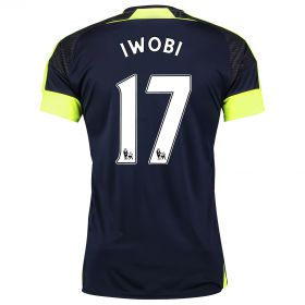 Arsenal Third Shirt 2016-17 with Iwobi 17 printing