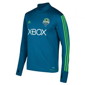 Seattle Sounders Training Top - Long Sleeve - Blue