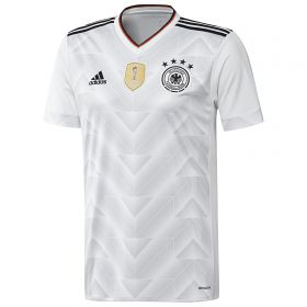 Germany Confederations Cup Home Shirt 2017 - Kids with Hummels 5 printing