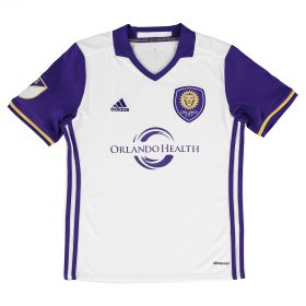 Orlando City SC Away Shirt 2016-17 - Kids with Rivas 11 printing