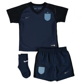 England Away Stadium Kit 2017-18 - Infants
