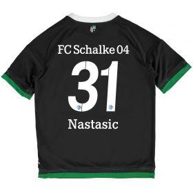 Schalke 04 Third Shirt 2015-17 - Kids Grey with Nastasic 31 printing