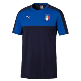 Italy Tribute 2006 Badge T-Shirt - Navy - Blue - Kids