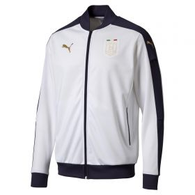 Italy Tribute 2006 Stadium Jacket - White-Navy