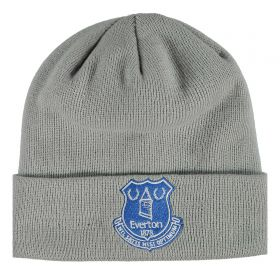 Everton New Era Core Cuff Beanie - Grey