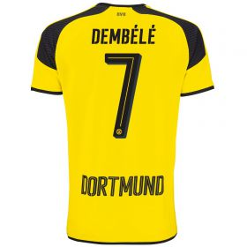 BVB International Home Shirt 2016-17 - Outsize with Dembélé 7 printing
